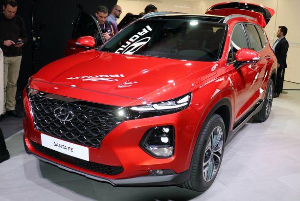 Hyundai Santa-Fe.