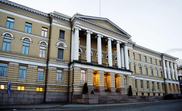 Yliopistojen työriitaan saatiin sopu. Kuvassa on Helsingin yliopisto.