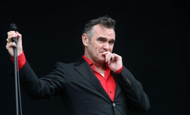 Morrisseylle 10 asteen lämpötila oli sittenkin liian kylmä.