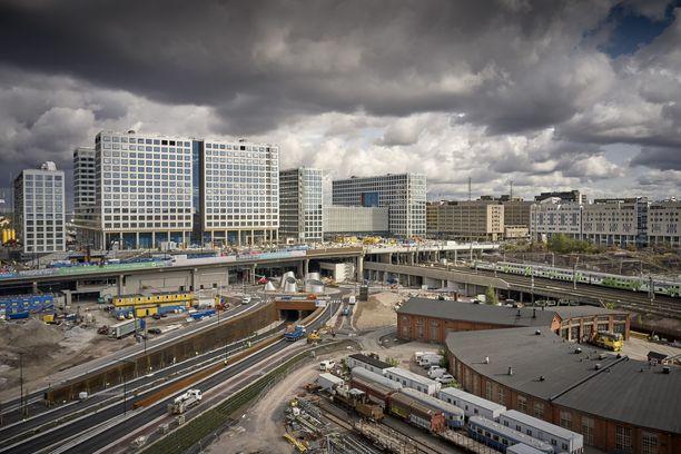 Helsingin Pasilaan on vuodesta 2015 rakennettu uutta keskustaa, eli Tripla-kompleksia.