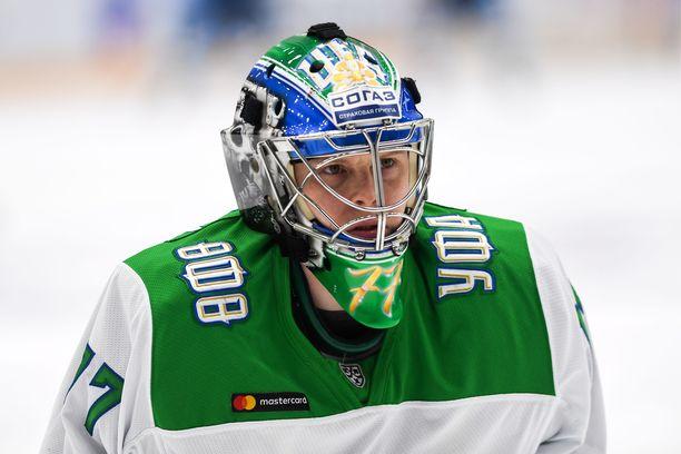 Ufan tähtivahti Juha Metsola pelasi kevään playoffeissa häikäisevällä torjuntaprosentilla 95,6.