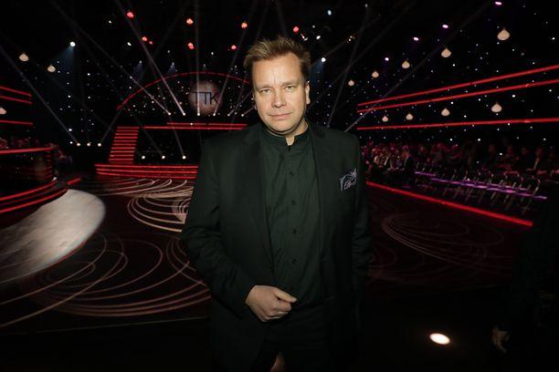 Antti Kaikkonen ei pääse tanssikisan tuomasta lisänimestään.