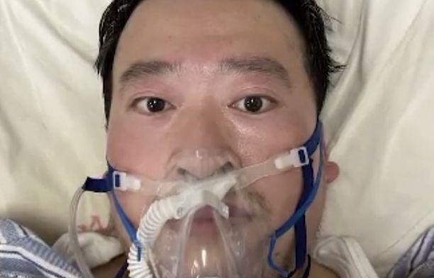Li Wenliang työskenteli Wuhanin keskussairaalassa.
