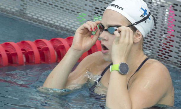Ida Hulkko jäi finaalissa viimeiseksi.