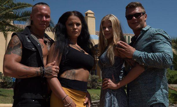 Voitto ratkesi Johnnyn, Nadian, Viivin ja Christianin kesken.