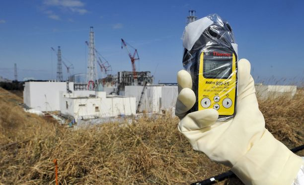 Säteilypitoisuuksia mitattiin vaurioituneen Fukushiman ydinvoimalan lähettyvillä.