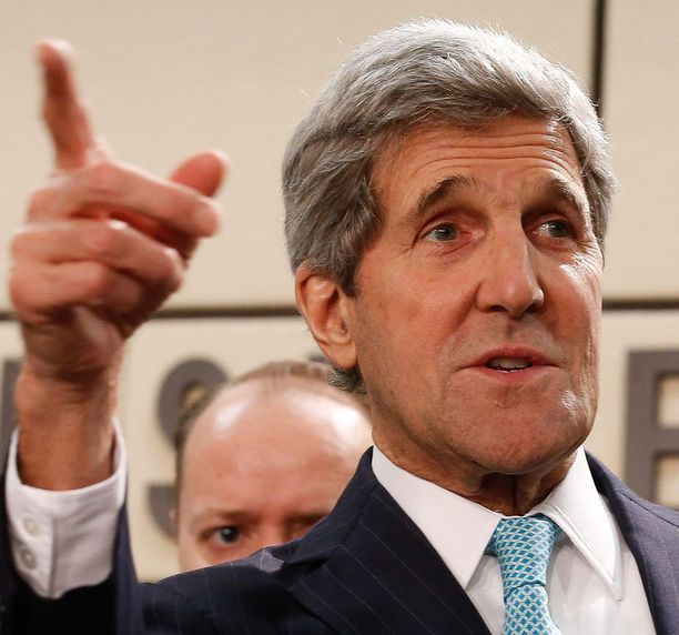 John Kerry lähetti terveiset suomalaisille.