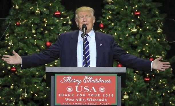 Donald Trumpin valinta presidentiksi vahvistetaan maanantaina.