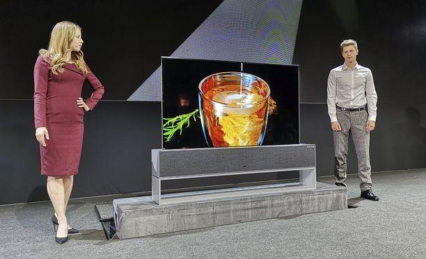 Rullautuva televisio oli LG:n kiinnostavin julkistus.