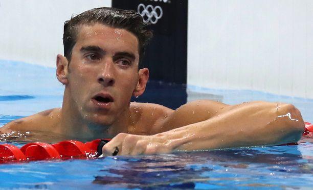 Michael Phelps ei juuri arvosta dopingista kärähtäneitä urheilijoita.
