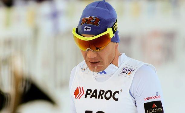 Ville Nousiaista ei nähdä ylihuomenna miesten 15 kilometrin kisassa.