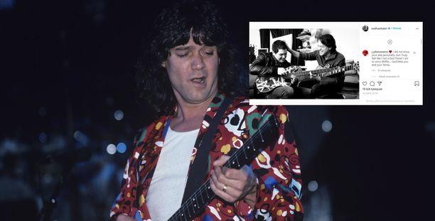 Uutinen Van Halenin kuolemasta on järkyttänyt ja herättänyt surua ympäri maailmaa.