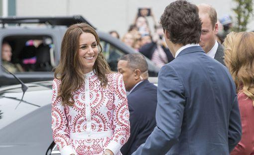 Herttuatar Catherine tapasi Justin Trudeaun viime syksynä.