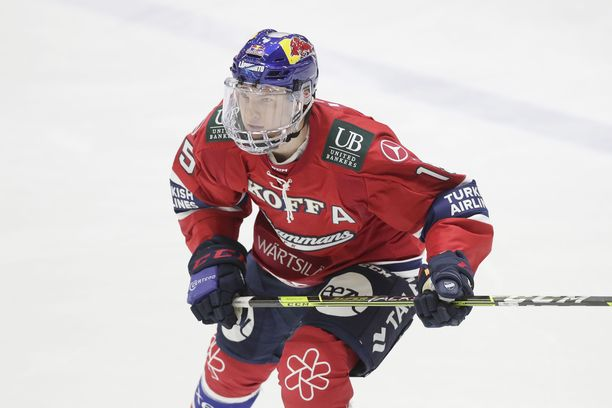 HIFK:n 19-vuotias tähtisentteri Anton Lundell palasi liigajäille yli kahden kuukauden tauon jälkeen.