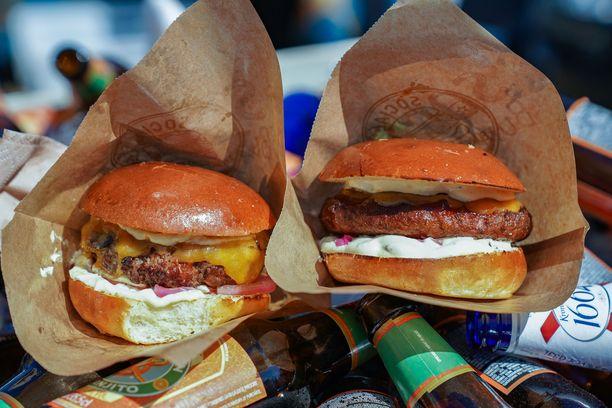 Voitokkaat Social Burgerjointin hampurilaiset.