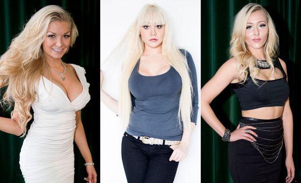 Johanna, Marianne ja Tia odottavat esikoisiaan.