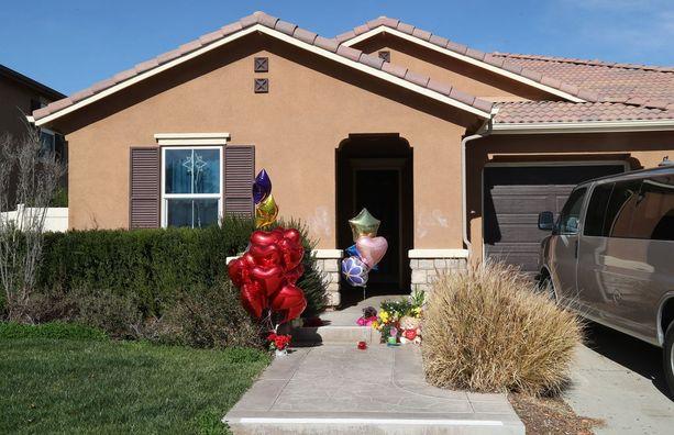 Lapsia pidettiin vangittuina tässä talossa Kaliforniassa.