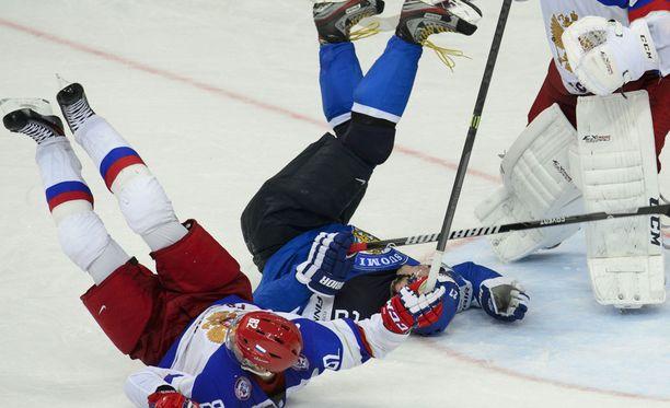 Venäjä vei viime kevään MM-kullan. Suomi jäi Minskissä hopealle.