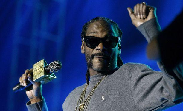 Snoop Doggia kunnioitetaan vapaapainin saralla.