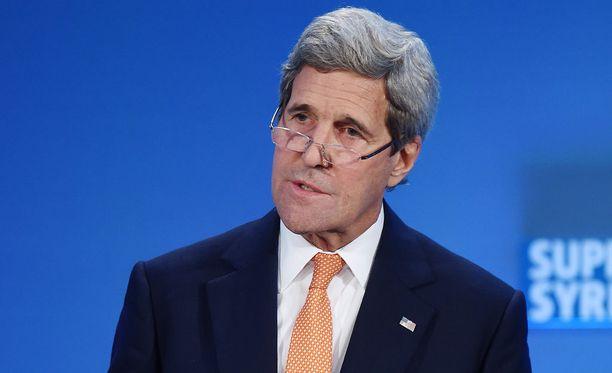 Yhdysvaltain ulkoministeri John Kerryn mukaan Syyrian tulitauosta on päästy sopuun.
