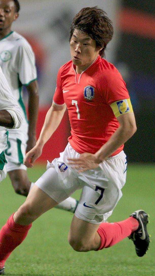 Park Ji-Sung siirtyi ManU:uun PSV Eindhovenista vuonna 2005.