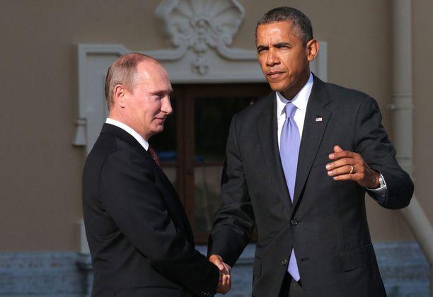 Putin ja Obama tapasivat syyskuussa 2013 Pietarissa G20-maiden kokouksessa. Kremlin mukaan Putinin ja Trumpin tapaamista aletaan valmistella heti virkaanastujaisten jälkeen.
