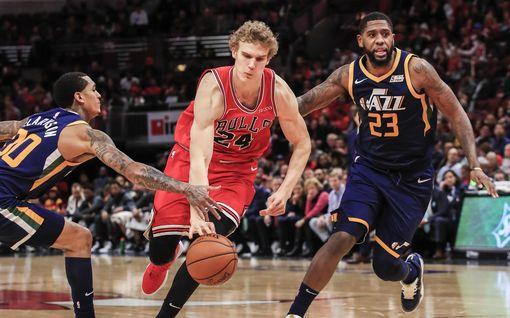 Chicago Bullsille kirvelevä tappio – Lauri Markkanen rakentamassa loppukiriä