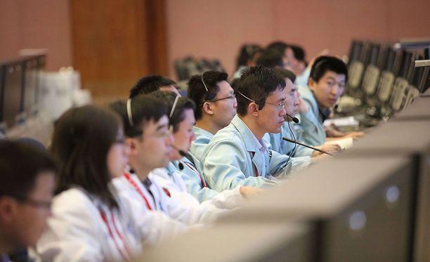 Kiinan avaruushallinto menetti Tiangongin hallinnan vuonna 2016.