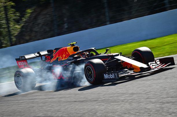 Jarrut joutuvat kovalle koetukselle modernissa F1-autossa.