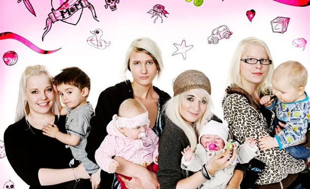 Sarja kysyy, voiko teini-ikäinen olla hyvä äiti. Siihen saataneen vastaus, kun tyttöjä lapsineen seurataan sarjassa vuoden ajan.
