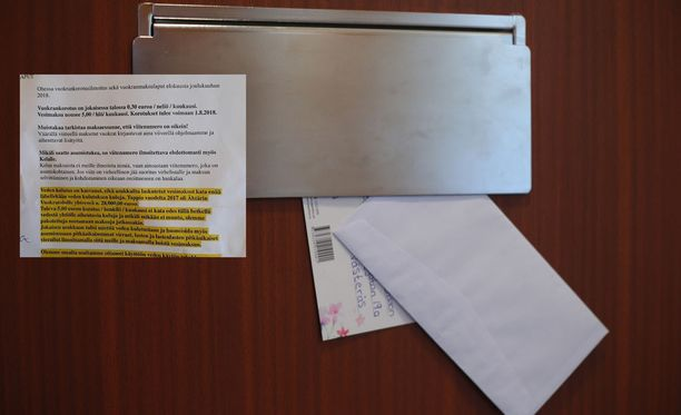 Ähtärin kunnan omistama kiinteistöyhtiö Kiinteistö Oy Ähtärin Vuokratalojen lähettämä kirje herätti kummastusta asukkaissa.