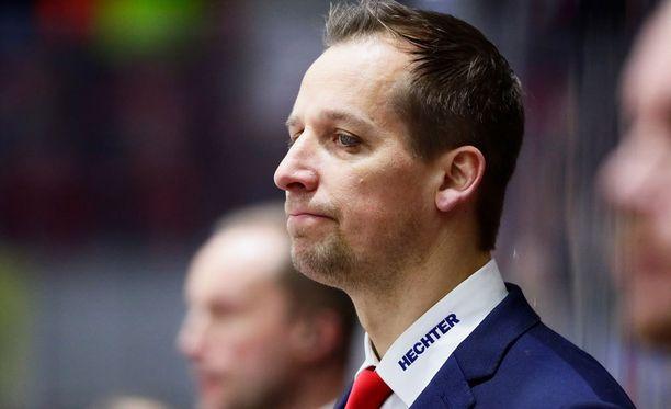 HIFK-luotsi Antti Törmänen.