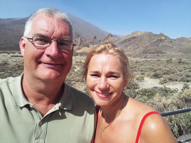 Christian Westerholm ja Doris Mändsalu ovat olleet yhdessä yhdeksän vuotta.