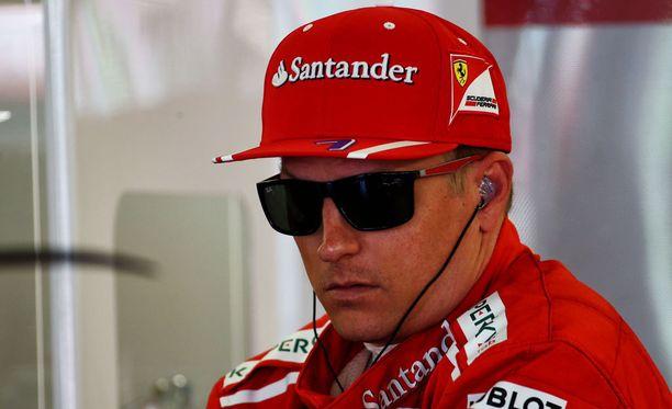 Kimi Räikkösellä ja Ferrarilla ei ole sopimusta ensi kaudesta.