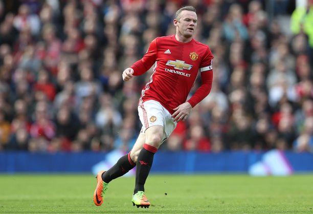 Wayne Rooney loisti Manchester Unitedissa vuosina 2004–17.