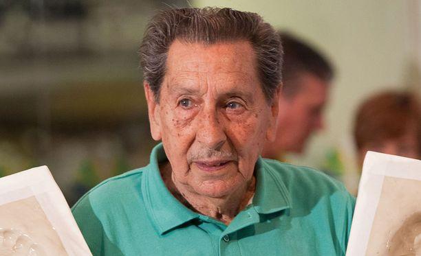 Alcides Edgardo Ghiggia kuoli sydänkohtaukseen tasan 65 vuotta sen jälkeen, kun hän oli johdattanut Uruguayn maailmanmestariksi.