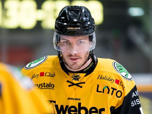 John Persson jätti SaiPan tammikuun lopussa.