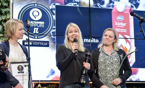 Viime vuonna Vuoden innovaatio -sarjan voitti Valion pohjaan palamaton Kiehu-maito.