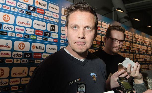 Lauri Marjamäki on ensimmäistä kertaa Leijonien päävalmentajana MM-kisoissa.