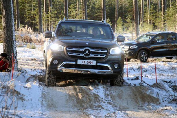 Ei voi erehtyä - Mercedes tulossa.