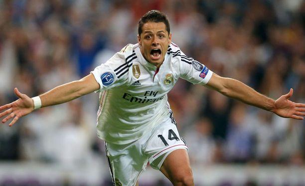 Chichariton ilme kertoo kaiken: Real Madrid täydentää Mestarien liigan välieräkvartetin.
