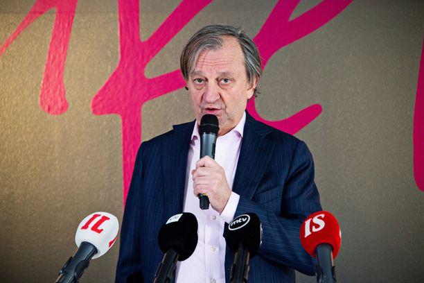 Kansanedustaja Hjallis Harkimon vaalibudjetti oli 40 180,99 euroa.