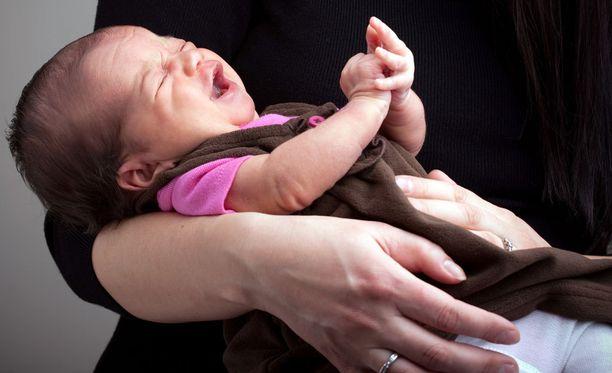Äiti riudutti neljän kuukauden ikäisen vauvansa 4,5-kiloiseksi ja väitti tämän olevan vakavasti sairas. Kuvituskuva.