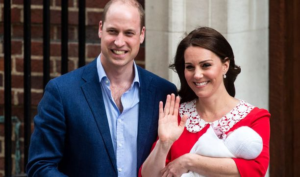 Prinssi William ja Catherine saivat kolmannen lapsensa helmikuussa.
