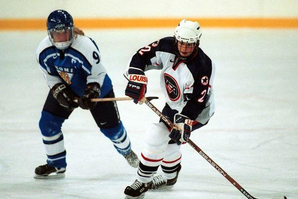 Ihalainen edusti Suomea muun muassa Naganon olympialaisissa 1998.