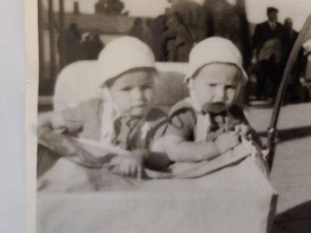 Tero ja Timo Salo olivat isoja vauvoja.