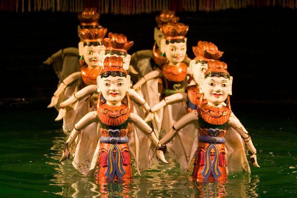 Vesinukketeaetteri on vietnamilainen erikoisuus.
