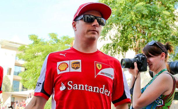 Kimi Räikkönen ei ole päässyt radalle koko päivänä.