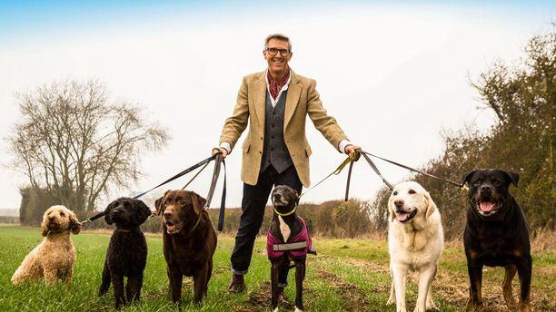 Huonosti käyttäytyvät koirat -sarja esitettiin Ylellä ensimmäisen kerran viime kesänä Areenassa.