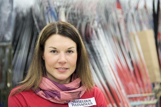 Mona-Liisa Nousiainen voitti urallaan kaksi maailmancupin osakilpailua.